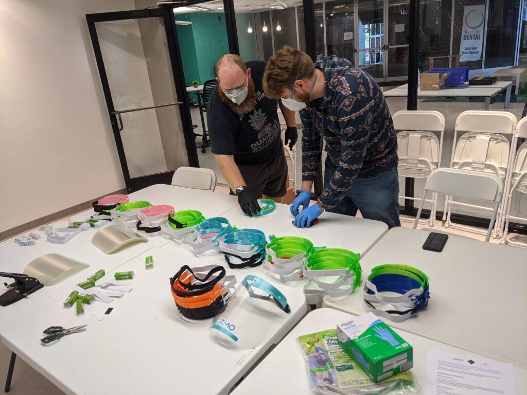 Assembling PPE