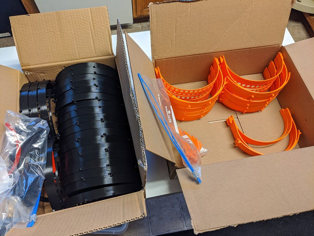 PRUSA bands PPE