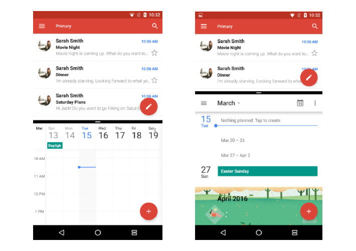 Multi-window feature Android N